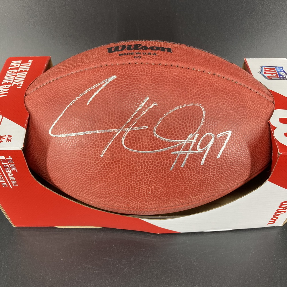 NFL - Steelers Cameron Heyward Signed Authentic Football