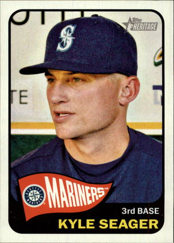 Photo of 2014 Topps Heritage #157 Kyle Seager
