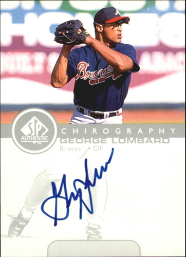 Photo of 1999 SP Authentic Chirography #GL George Lombard