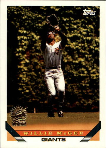 Photo of 1993 Topps Inaugural Marlins #435 Willie McGee