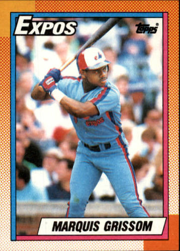 Photo of 1990 Topps #714 Marquis Grissom RC