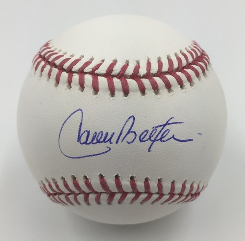 Carlos Beltran Autographed Baseball Mlb Auctions