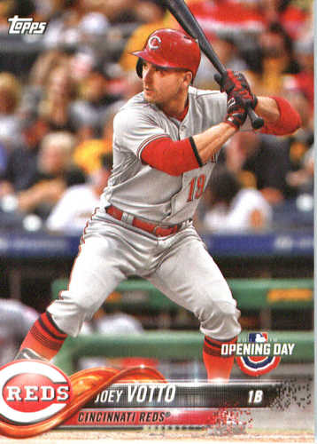 Photo of 2018 Topps Opening Day #139 Joey Votto