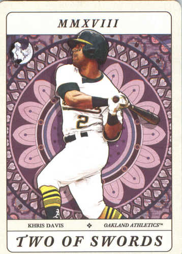 Photo of 2018 Topps Gypsy Queen Tarot of the Diamond #TOD11 Khris Davis