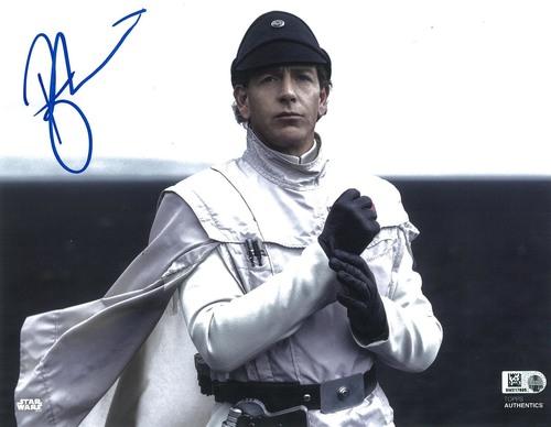 Ben Mendelsohn as Director Orson Krennic 8x10 Autographed in Blue Ink Photo