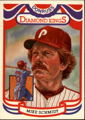 Photo of 1984 Donruss #23 Mike Schmidt -- Hall of Fame Class of 1995