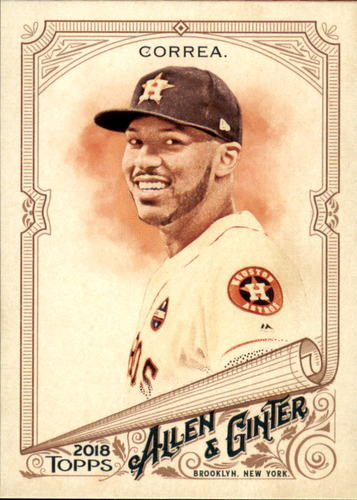 Photo of 2018 Topps Allen and Ginter #30 Carlos Correa