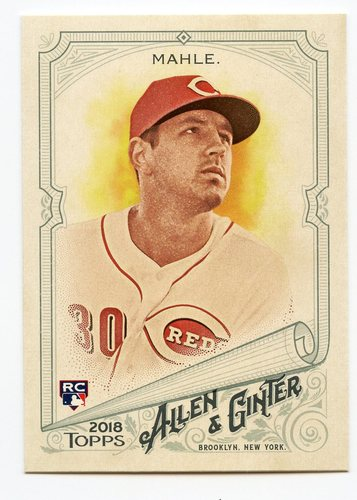 Photo of 2018 Topps Allen and Ginter #196 Tyler Mahle RC