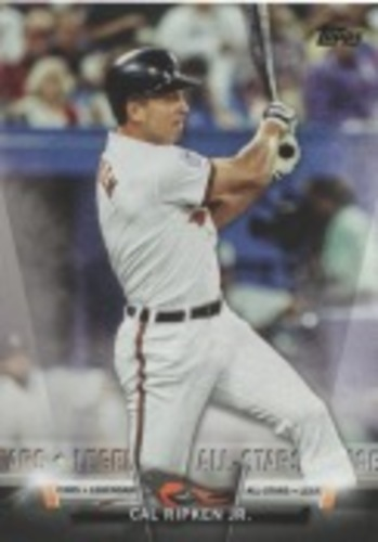 Photo of 2018 Topps Update Salute #S8 Cal Ripken Jr.