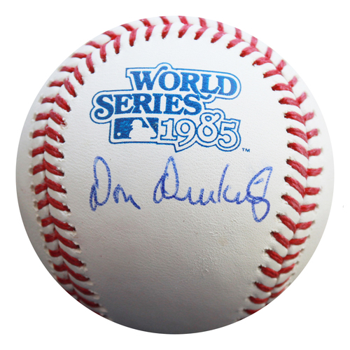 Photo of Autographed 1985 World Series Baseball: Don Denkinger