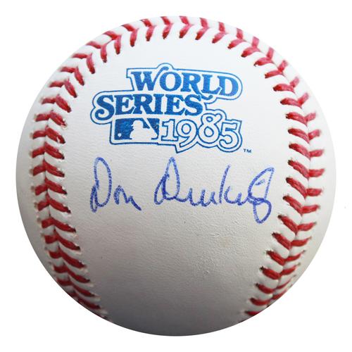 Photo of Autographed 1985 World Series Baseball: Don Denkinger