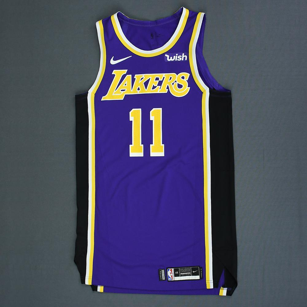 Michael Beasley - Los Angeles Lakers - Game-Worn Statement Edition Jersey - 2018-19 Season