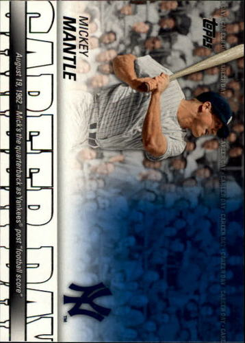 Photo of 2012 Topps Career Day #CD22 Mickey Mantle