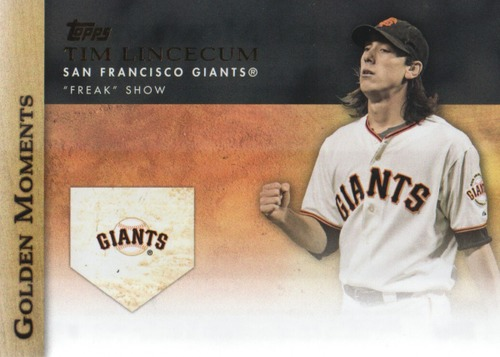 Photo of 2012 Topps Update Golden Moments #GMU38 Tim Lincecum