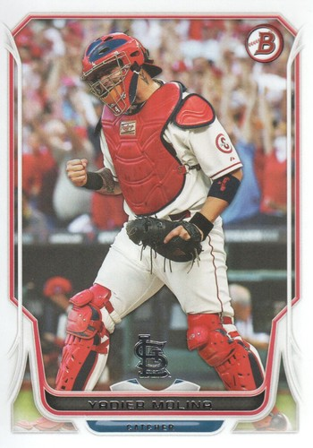 Photo of 2014 Bowman #134 Yadier Molina