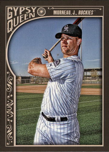 Photo of 2015 Topps Gypsy Queen #144 Justin Morneau