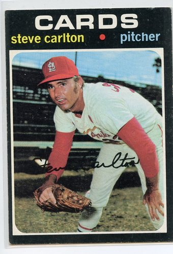 Photo of 1971 Topps #55 Steve Carlton