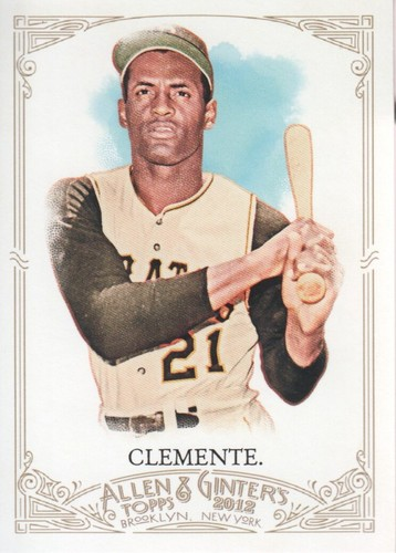 Photo of 2012 Topps Allen and Ginter #300 Roberto Clemente