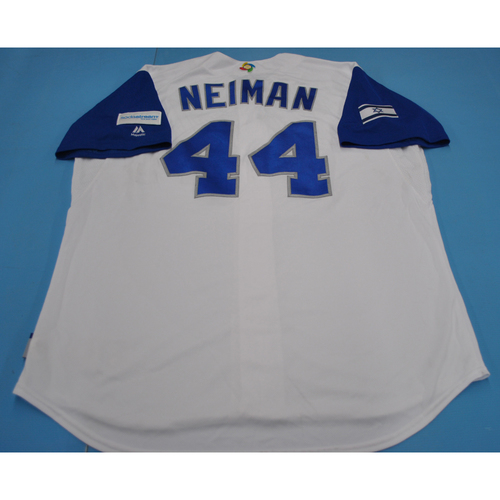 Photo of 2017 World Baseball Classic Game-Used Jersey - Troy Neiman - Israel
