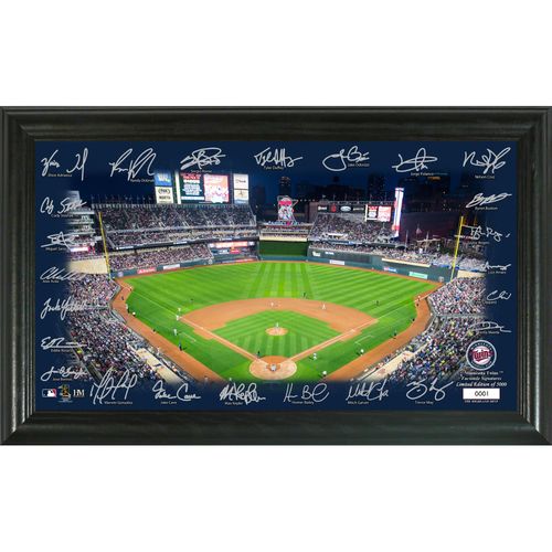 Photo of Minnesota Twins 2020 Signature Field Limited Edition Frame