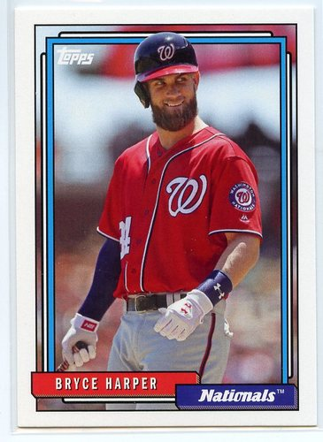 Photo of 2017 Topps Archives #250B Bryce Harper SP/red sleeve