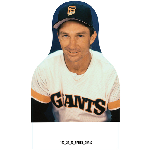 Photo of Giants Community Fund: Giants Chris Speier Cutout
