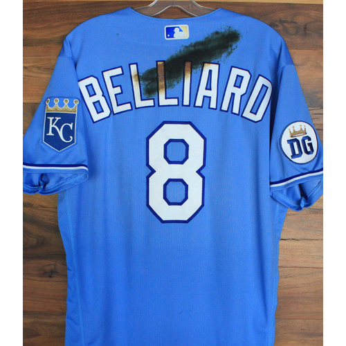 Photo of Alex's Lemonade Stand Foundation: Game-Used Rafael Belliard Jersey (Size 44 - 9/26/20 DET @ KC)