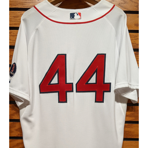 #44 Team Issued Home White Jersey