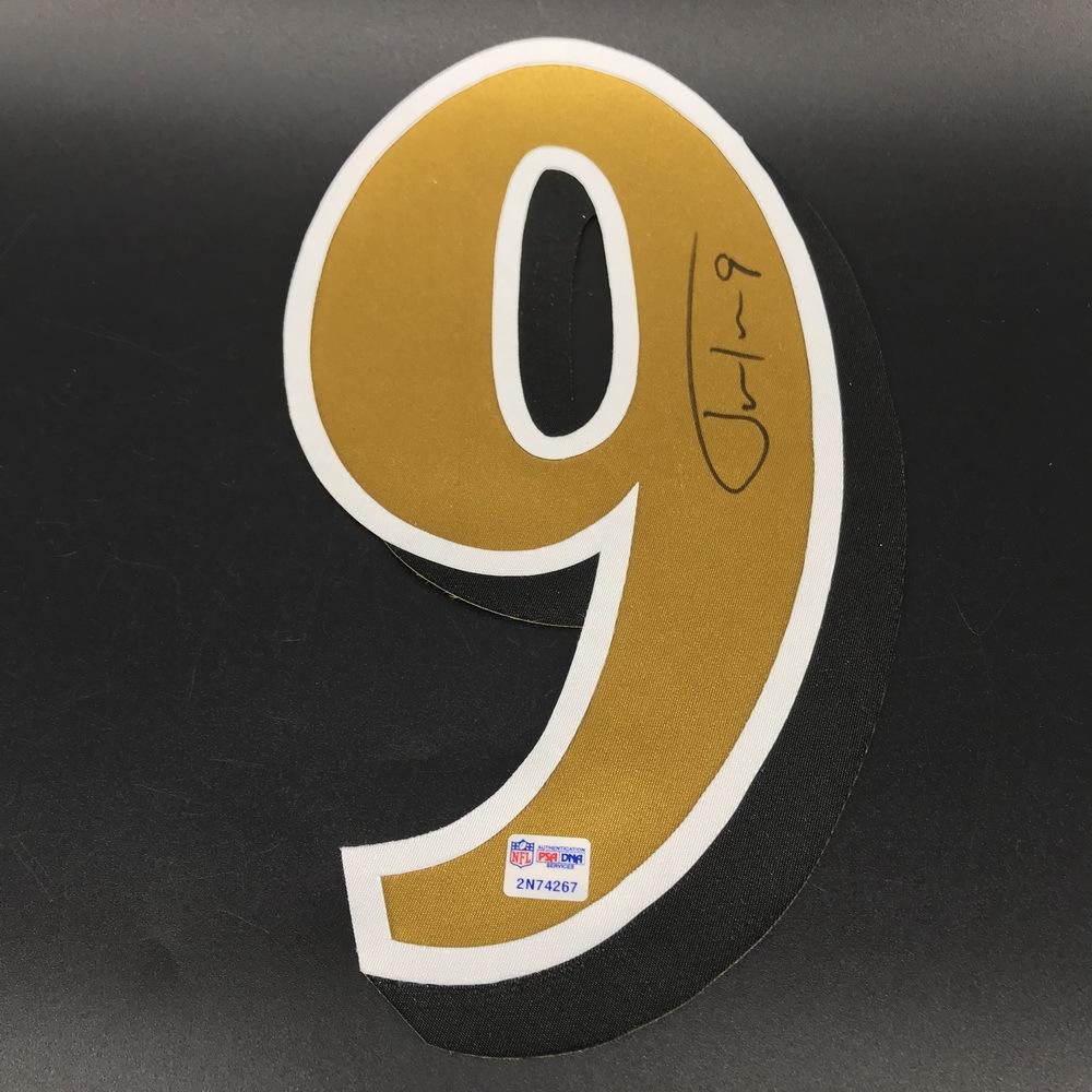 NFL - Ravens Justin Tucker Signed Jersey Number