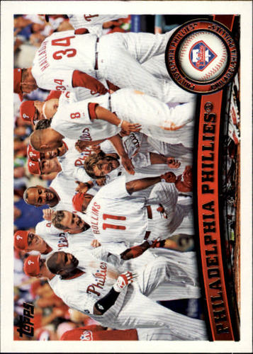 Photo of 2011 Topps #511 Philadelphia Phillies TC