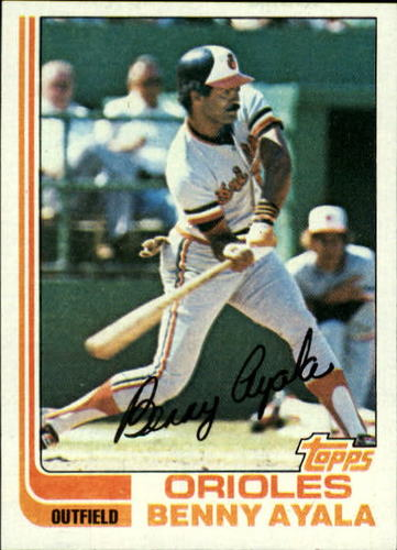 Photo of 1982 Topps #331 Benny Ayala
