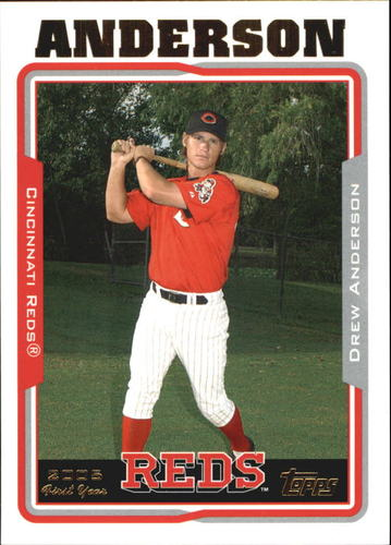 Photo of 2005 Topps Update #221 Drew Anderson FY RC