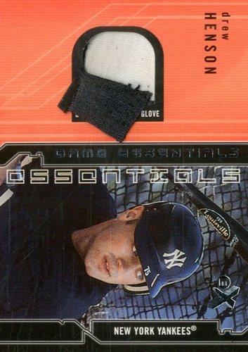 Photo of 2002 E-X Game Essentials #12 Drew Henson Fld Glv