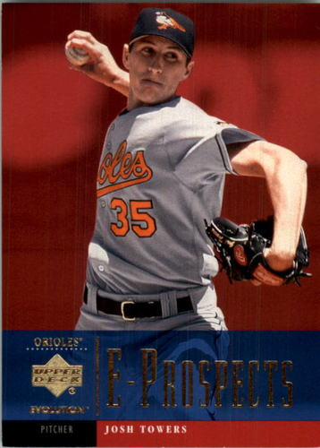 Photo of 2001 Upper Deck Evolution #106 Josh Towers PROS RC