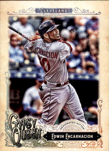 Photo of 2017 Topps Gypsy Queen #113 Edwin Encarnacion
