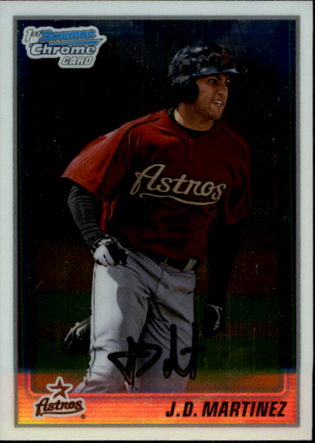 Photo of 2010 Bowman Chrome Prospects #BCP165 J.D. Martinez Pre-Rookie Card