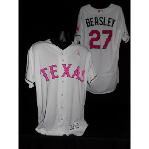 Tony Beasley 2017 Game-Used Mother's Day Jersey