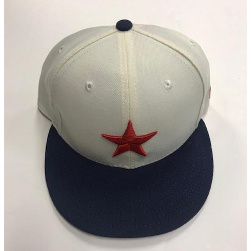 Photo of Game-Used Detroit Stars Cap: Daniel Norris