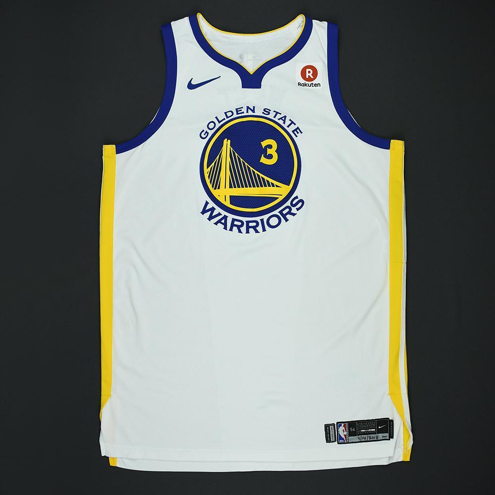 David West - Golden State Warriors - 2018 NBA Playoffs Game-Worn Jersey