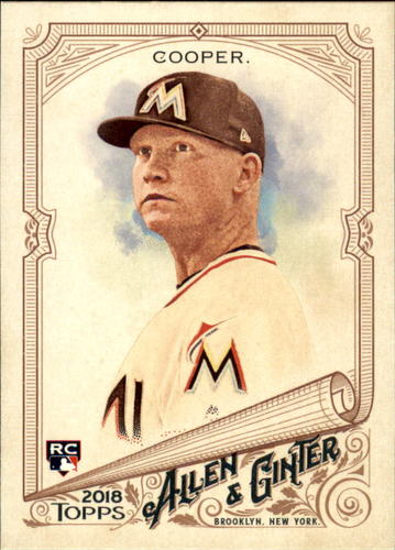 Photo of 2018 Topps Allen and Ginter #199 Garrett Cooper RC