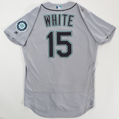 Photo of 2018 Arizona Fall League Game-Used Jersey - Evan White -Size 44