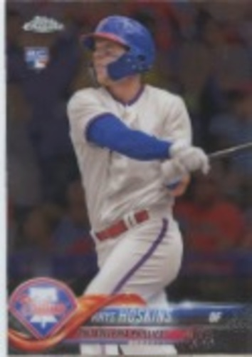 Photo of 2018 Topps Chrome Update #HMT28 Rhys Hoskins Rookie Card