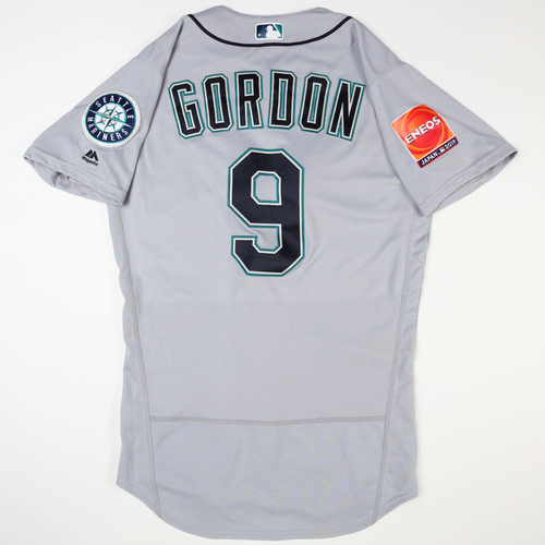 2019 Japan Opening Day Series - Game Used Jersey - Dee Gordon, Seattle Mariners at Oakland Athletics -3/18/2019 , 3/20/2019