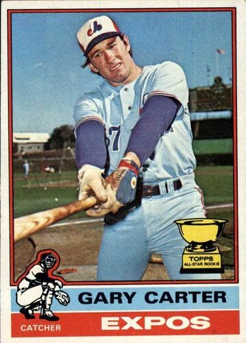 Photo of 1976 Topps #441 Gary Carter