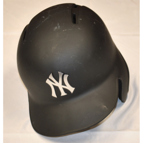 "Photo of Austin ""RO"" Romine New York Yankees Game-Used 2019 Players' Weekend Helmet"
