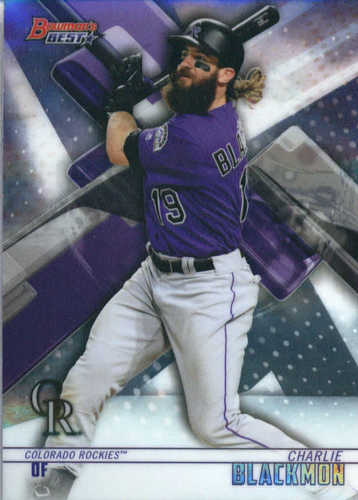 Photo of 2018 Bowman's Best #47 Charlie Blackmon
