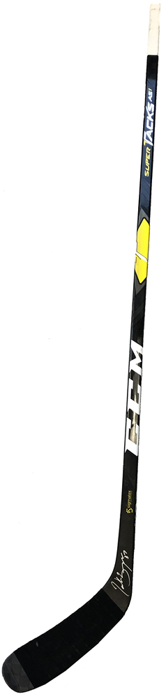 #37 Patrice Bergeron Game Used Stick - Autographed - Boston Bruins