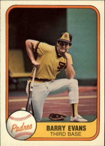 Photo of 1981 Fleer #499 Barry Evans RC