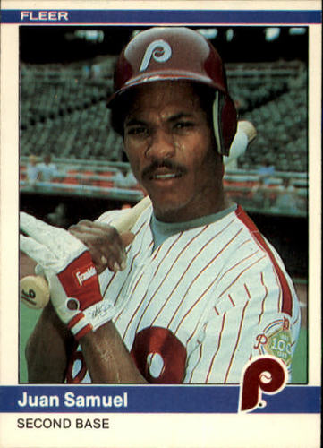 Photo of 1984 Fleer #47 Juan Samuel RC