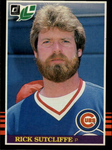 Photo of 1985 Leaf/Donruss #139 Rick Sutcliffe